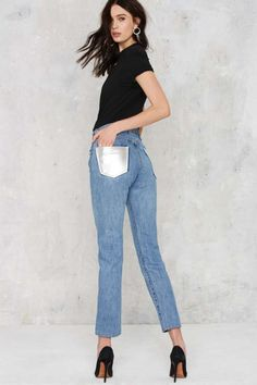 After Party Vintage Like a Badass Levi's 501 Jeans - Clothes   After Party   Skinny   Top Gifts