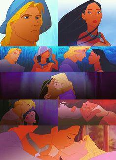 Disney Couples - Pocahontas and John Smith