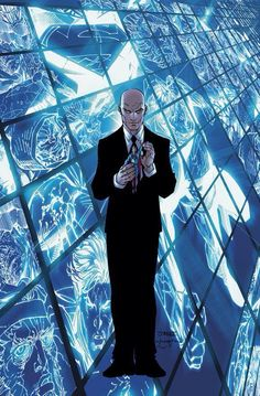 One of world's most brilliant minds and most famous villains, Lex Luthor is driven by his jealousy for strange visitor of Krypton; Deadshot, Deathstroke, Famous Villains, Comic Art, Comic Books, Ocean Master, Lex Luthor, New 52, Riddler