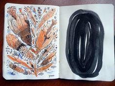 Y O by Santiago Guevara #sketchbook