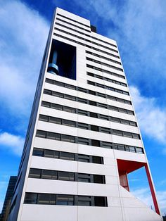 Martorell, Bohigas, Mackay, Capdevila, Gual, MBM Arquitectes, Torre Blanca, Placa Europa, Barcelona | Flickr - Photo Sharing!
