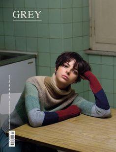 Grey Magazine, cover