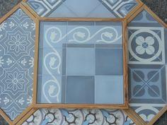 Handmade encaustic tiles. 15x15 cm format.  Brochure available.