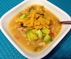 Slow Cooker White Bean Chicken Tortilla Soup