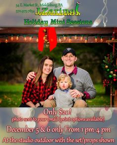 This Saturday and Sunday 1pm-4pm! Outdoor Holiday photo with...