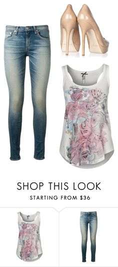 """""""Untitled #3100"""" by ania18018970 ❤ liked on Polyvore featuring Kaporal, rag & bone and Jimmy Choo"""