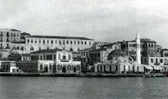 Τελωνειο! 1920 — Chania, Crete. Crete Island, Simple Photo, Crete Greece, Roman Empire, Byzantine, Ancient Greek, Old Photos, Rome, Past