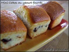 Mini-cakes au yaourt fourrés à ...ce qu'on veut :)