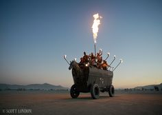 Burningman artcars | Burning Man 2012