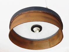 Transformer un tamis en abat- jour de style industriel - PLEASANT HOME déco et Accessoires