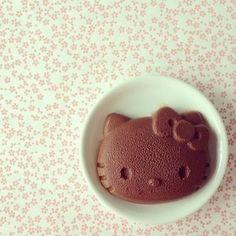 Bocaditos de Hello Kitty - Mousse