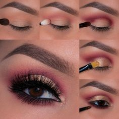Pink Smokey Eye | Smokey Eye Night Out Makeup Tutorials