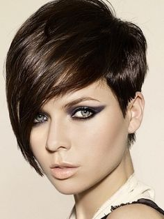 maybe the perfect style for growing out the shaved side of my hair. Will require the back to go much shorter