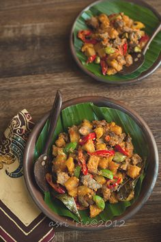 Food and Story: Sambal goreng ati kentang