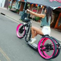Cars Discover These Streets are streets! Proto bike by . Trike Bicycle, Lowrider Bicycle, Cruiser Bicycle, Motorized Bicycle, Bicycle Girl, Motorcycle Bike, Rs4, Moto Scooter, Motorised Bike