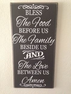 Blessing quote sign. $30