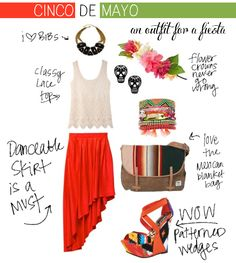 Festive Cinco De Mayo Outfit // LoveCreative Blog