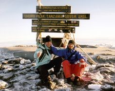 Kilimandscharo, Uhuru Peak, Tansania
