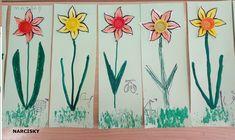 NARCISKY- jarní květiny v mš Spring Art, Projects To Try, Atelier