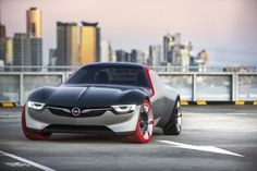 General Motors has announced their latest concept Opel GT. This looks like modern version of the iconic sports car built around early Opel GT concept car Lamborghini, Bugatti, Ferrari, Peugeot, General Motors, Opel Gt Concept, Buick, Jaguar, Volkswagen
