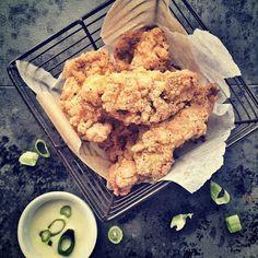 "Paleo ""KFC"" Chicken Tenders from Brittany Angell"