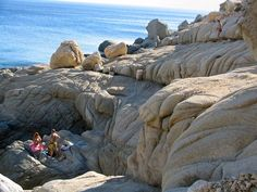 Ikaria Island.... Ikaria Greece, Rock Formations, Greek Islands, Mount Rushmore, Places To Go, Bucket, Spirit, In This Moment, Mountains