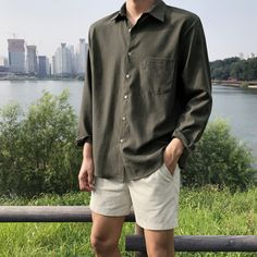 180 fall fashion outfits that'll make yo… - Lässige Herrenmode Fall Fashion Outfits, Autumn Fashion, Casual Outfits, Fashion Shorts, Summer Outfits Men, Moda Streetwear, Streetwear Fashion, Korean Fashion Men, Mens Fashion