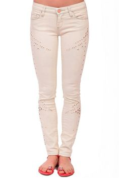 Blank Denim Is Miley Serious Skinny Jeans- White from Blank Denim at Blush Boutique Miami - ShopBlush.com