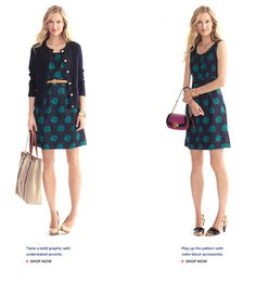 I have shoes that match the polka dots I just may be rocking this adorable dress this year