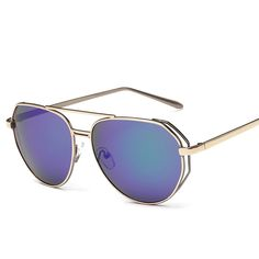 Find More Sunglasses Information about New fashion sunglasses all match trend reflecting atmospheric direct manufacturers 2217 WOMEN BRAND SUN GLASSES metal,High Quality Sunglasses from NBG AIH on Aliexpress.com