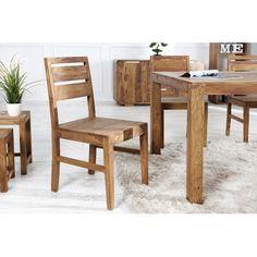 Magnifique chaise contemporaine coloris naturelle ! Sa structure est conçue en bois de palissandre, avec des pieds solides en bois . Sa conception est très c...