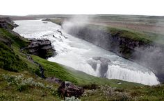 """See 2083 photos and 143 tips from 12430 visitors to Gullfoss. """"A great spot to witness the pure power of this magnificent waterfall. Golden Circle, Iceland Travel, Niagara Falls, Waterfall, Europe, River, Adventure, Outdoor, Iceland"""
