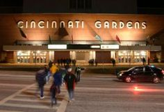 Cincinnati Gardens... entertainment in sports, concerts, monster trucks, rodeo and more