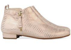 Bronzen/Gouden Evaluna boots 4258 enkelaarsjes