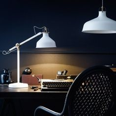 Gift ideas for Dad: Help dad see everything he needs with a RANARP work lamp! Not only is it stylish it has an adjustable lamp arm so dad can angle it for a perfect view.