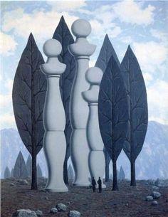 Rene Magritte 1962 De kunst van de conversatie / L'Art de la conversationele / The art of conversation