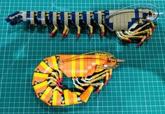Chuck another shrimp on the barbie, they said. Jason Cichon listened and cooked up some fantastic looking LEGO crustacea. Lego Tattoo, Lego Mechs, Lego Bionicle, Legos, Lego Robot, Lego Lego, Lego Batman, Lego Minecraft, Minecraft Skins
