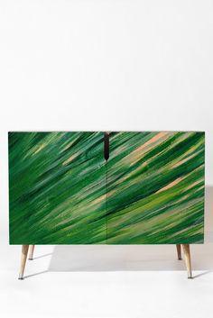 Rosie Brown Blades Of Grass Credenza | DENY Designs Home Accessories