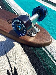 "SLLAROLL | ROLL SURF 22"" Walnut Limited Model | CLASSIC Wood Skateboards"