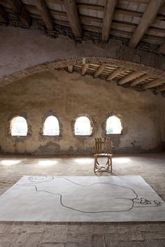 Eduardo Chillida designs  & Nani Marquina produces  a rug collection to die for #Catalonia