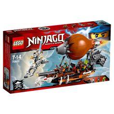 Conheça o sensacional Lego Ninjago - Zepelim de Ataque, um conjunto incrível que vai proporcionar as crianças uma animada batalha entre os ninjas e os piratas.   Os piratas estão atacando com seu poderoso Zepelim e os ninjas terão que usar seus  veículos aéreos e suas habilidades para se defenderem.  Com este conjunto as crianças poderão soltar a imaginação e usar a criatividade para criar as mais animadas aventuras.   Lego Ninjago é um brinquedo impecável que vai proporcionar muitos…