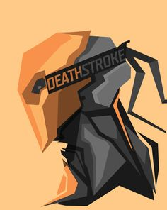 Deathstroke by Bosslogic Dc Deathstroke, Deathstroke The Terminator, Deadshot, Héros Dc Comics, Dc Comics Characters, Avengers, Super Anime, Detective Comics, Marvel Heroes