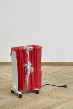 Nina Beier _Image dans la sculpture à Beaubourg.