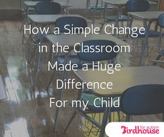 Research has shown that letting kids move throughout the day helps improve school performance. One mom shares how one simple change made a huge impact.