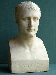 Bust of Napoleon.