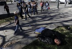 """Death toll for homeless found on Denver streets nears 700 since 2000 - The Denver Post 12/4/12    """"Porcupine is one of 677 homeless people who ended up in the Denver coroner's office in the past dozen years. Most arrived there as a consequence of drug and alcohol abuse. They came in body bags of all sizes. One died just minutes after birth; one was 90 years old."""""""