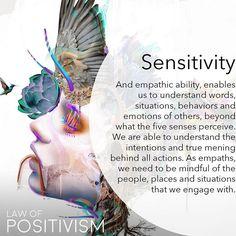 Law Of Positivism - Empaths Spiritual Wisdom, Spiritual Growth, Spiritual Awakening, Positive Energie, Intuitive Empath, Reiki Chakra, Mind Body Soul, Positive Affirmations, Positive Quotes