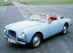 1954 fiber glass Volvo P1900.