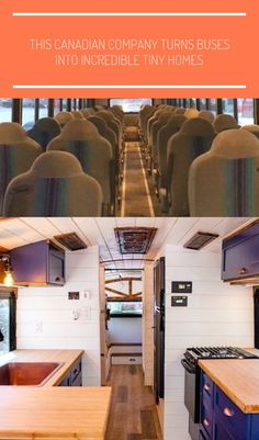 This Canadian Company Turns Buses Into Incredible Tiny Homes #tiny homes bus This Canadian Company Turns Buses Into Incredible Tiny Homes