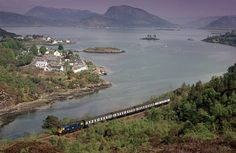Loch Carron and Plockton. Only 7 or 8 miles from the Skye bridge.